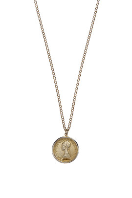 collana gilda gold back