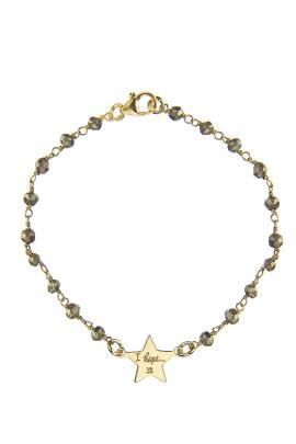 bracciale rosario labradorite stellina