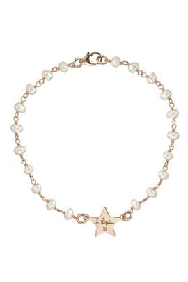bracciale rosario madreperla stellina