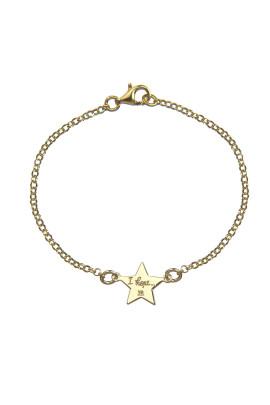 bracciale stellina hope gold