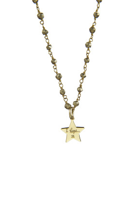 collana rosario labradorite stellina