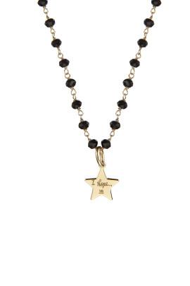 collana rosario onice stellina