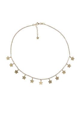 collana stelline gold