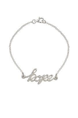 bracciale hope calligraphy