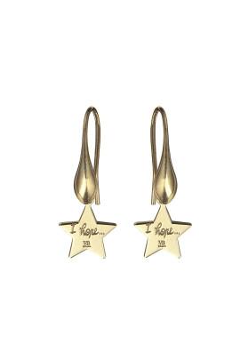 orecchini stellina gold